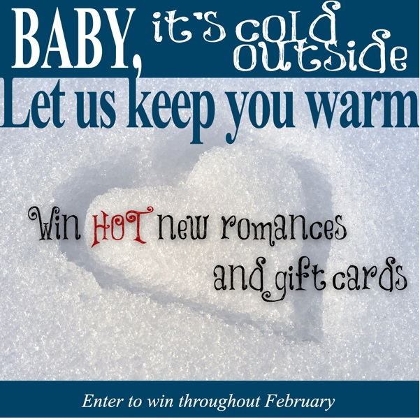Baby it's cold outside contest graphic