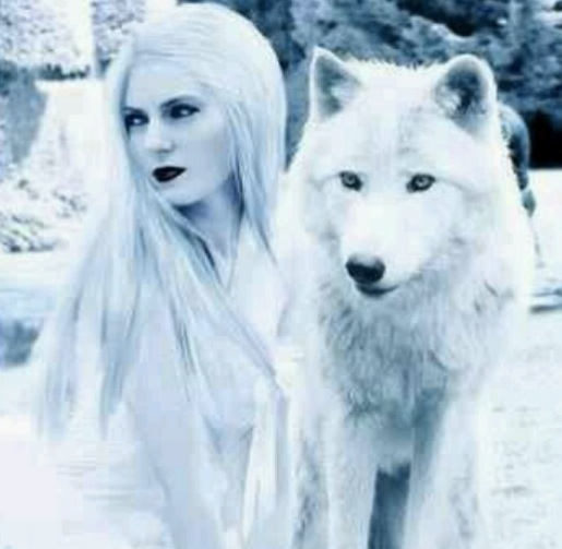 Inspiration for Claire and her wolf